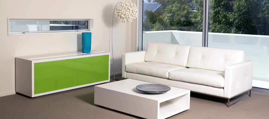 Puccini Sideboard and Cadiz Sofa
