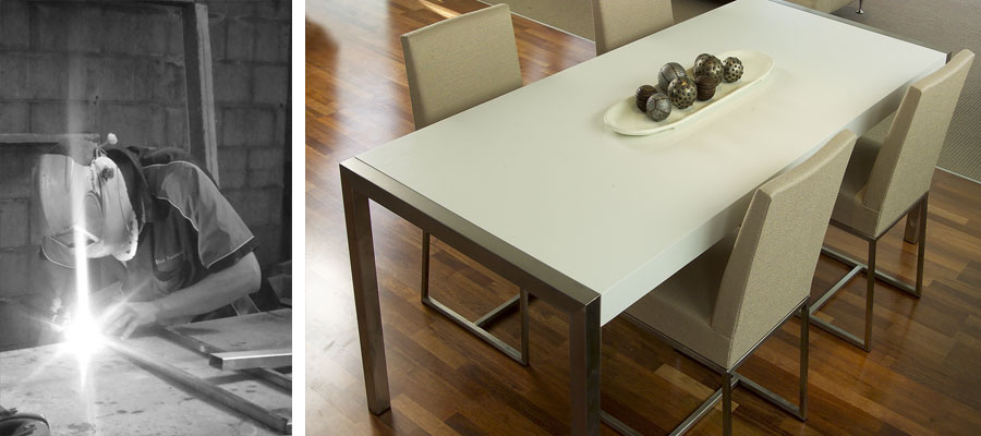 Urbanite #4 Dining Table