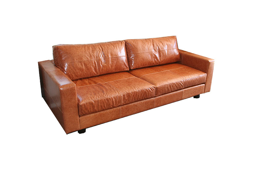 Granada leather sofa for Sanchez granada sofas