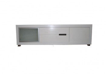 Rocco Entertainment Unit with a Glass Door