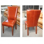 LA Dining Chair in Leather