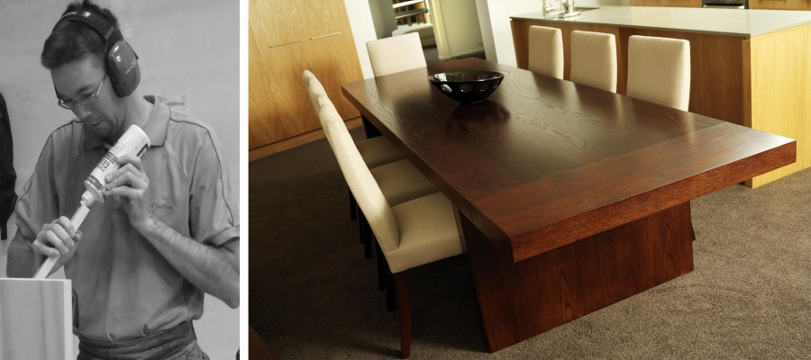 Urbanite #2 Dining Table and Cello Dining Chairs