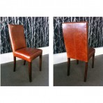 Cello Dining Chair in Leather