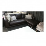 Bruno Leather Corner Sofa