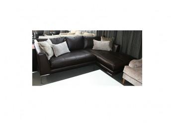 Bruno Leather Corner Sofa