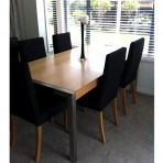 Urbanite Table #4 & Cello Dining Chairs